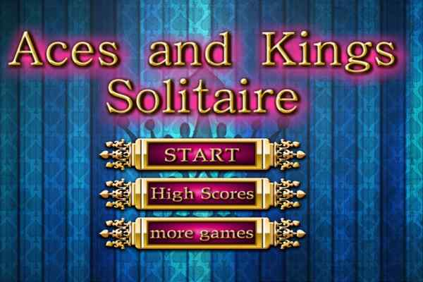 Play Aces and Kings Solitaire