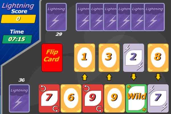 Play Lightning Cards