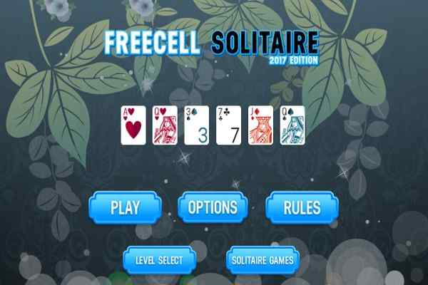 Play Freecell Solitaire 2017