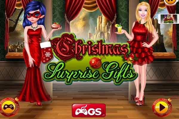 Play Barbie Christmas Surprise Gifts