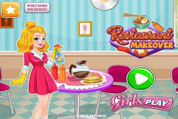 Play Restaurant Makeover