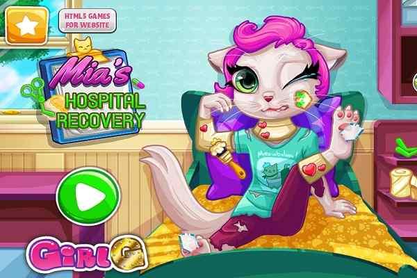 Play Mias Hospital Recovery