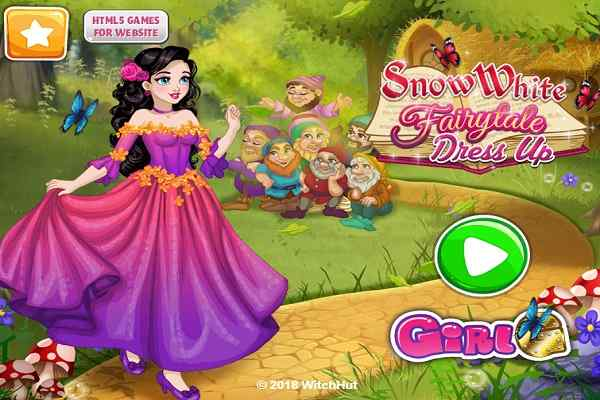 Play Snow White Fairytale Dress Up