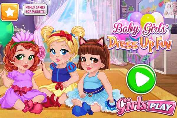 Play Baby Girls Dress Up Fun
