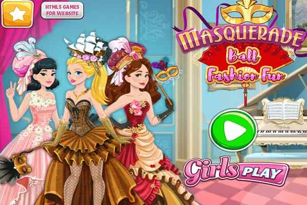 Play Masquerade Ball Fashion Fun