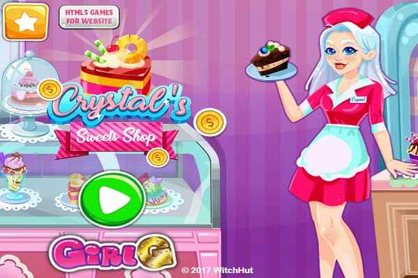 Play Crystals Sweets Shop
