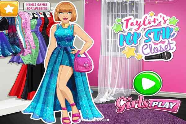 Play Taylors Pop Star Closet
