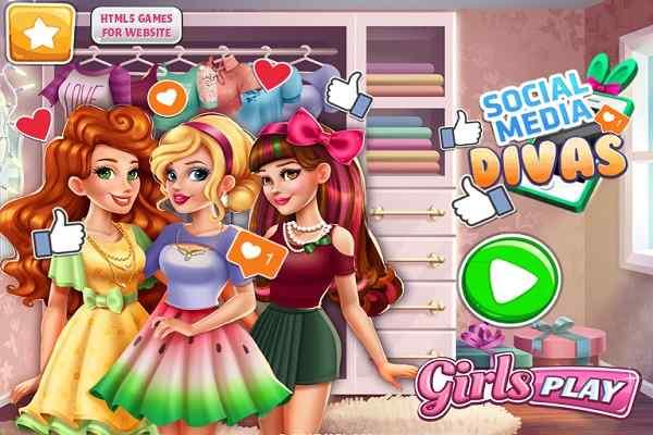 Play Social Media Divas