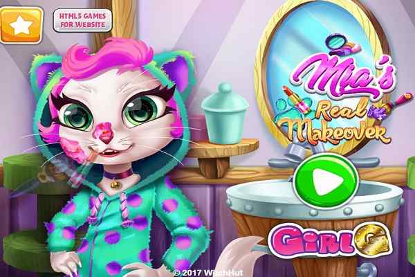 Play Mias Real Makeover