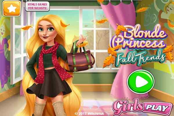 Play Blonde Princess Fall Trends