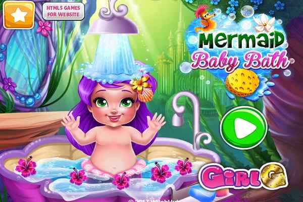 Play Mermaid Baby Bath