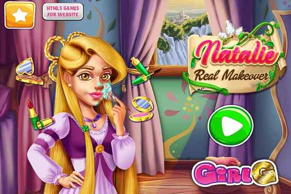 Play Natalie Real Makeover