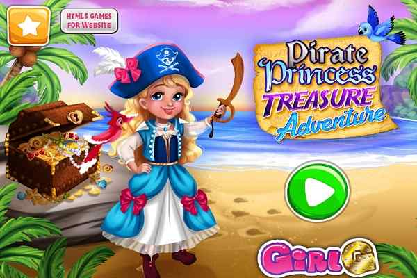 Play Pirate Princess Treasure Adventure