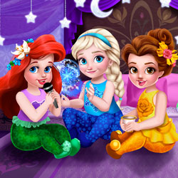 Play Toddler Princesses Slumber Party