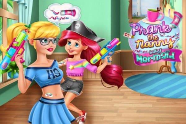 Play Prank the Nanny Baby Mermaid