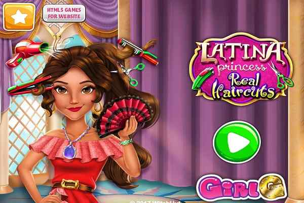 Play Latina Princess Real Haircuts