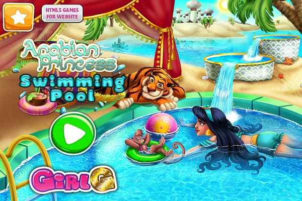Play Arabian Princess Swimming Pool