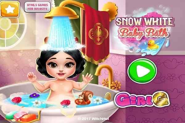 Play Snow White Baby Bath