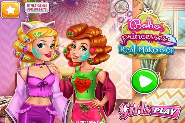Play Boho Princesses Real Makeover