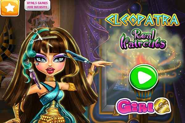 Play Cleopatra Real Haircuts