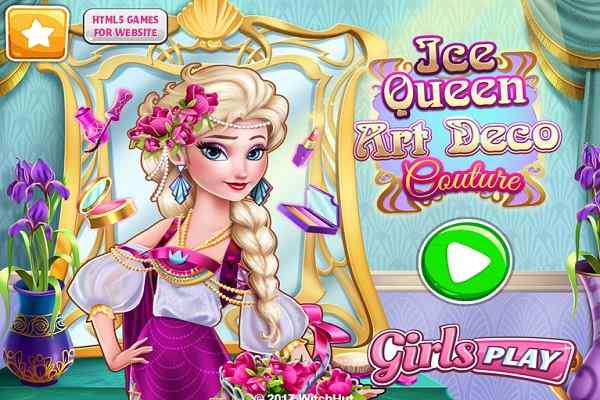 Play Ice Queen Art Deco Couture