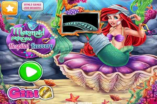Play Mermaid Princess Hospital Recovery