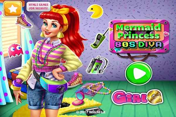 Play Mermaid Princess 80s Diva