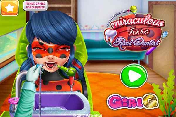 Play Miraculous Hero Real Dentist