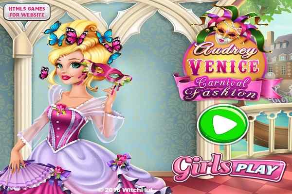 Play Audrey Venice Carnival Fashion