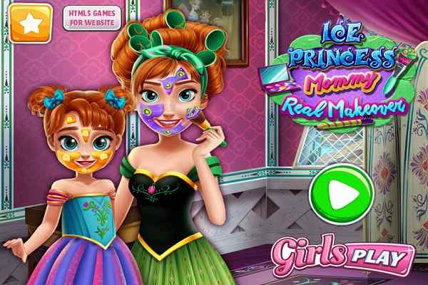 Play Ice Princess Mommy Real Makeover