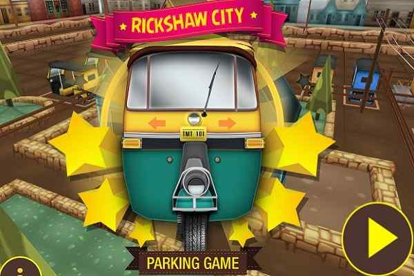 Play Rickshaw City