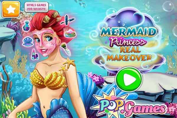 Play Mermaid Princess Real Makeover