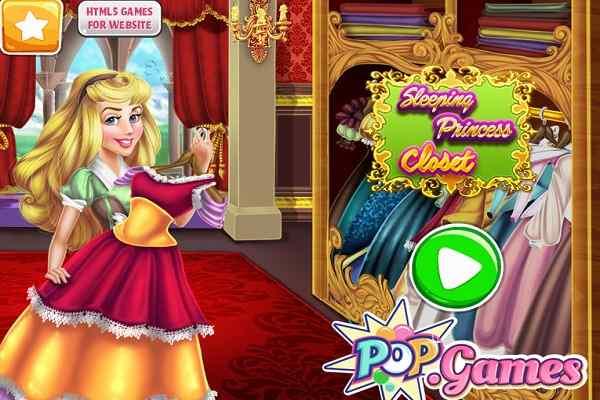 Sleeping Princess Closet, Dress Up Games   Play Online Free : Atmegame.com