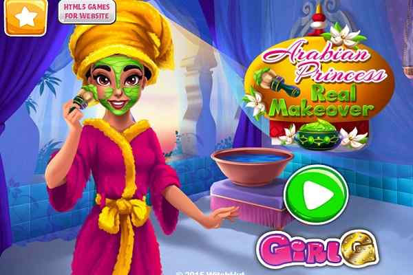 Play Arabian Princess Real Makeover