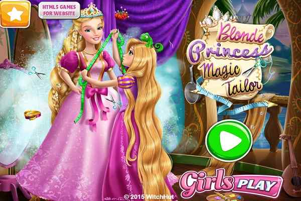 Play Blonde Princess Magic Tailor