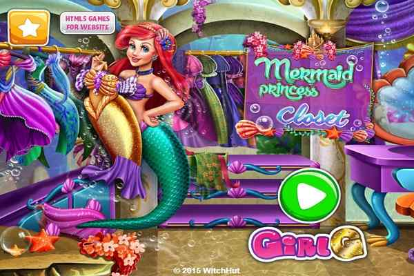 Play Mermaid Princess Closet