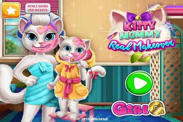 Play Kitty Mommy Real Makeover