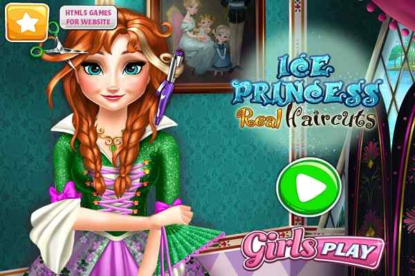Play Ice Princess Real Haircuts