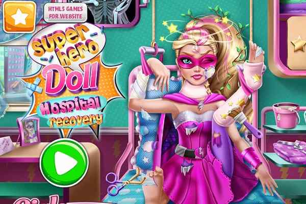 Play Superhero Doll Hospital Recovery