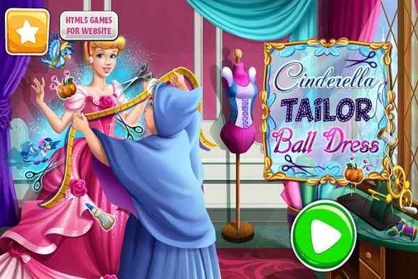 Play Cinderella Tailor Ball Dress