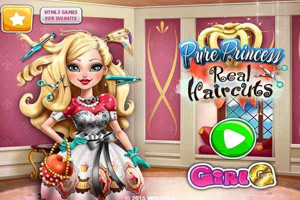Pure Princess Real Haircuts Make Up Games Play Online Free