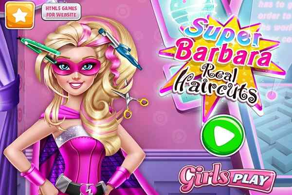 Play Super Barbara Real Haircuts