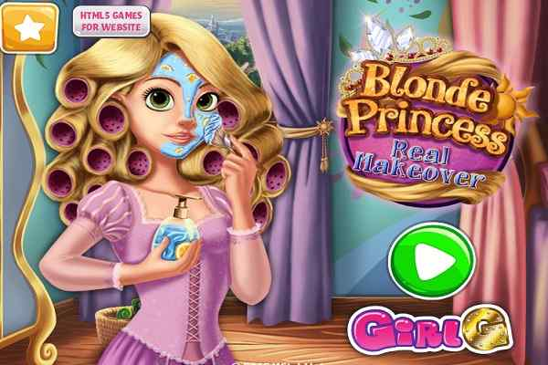 Play Blonde Princess Real Makeover