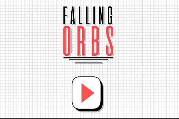 Play Falling Orbs