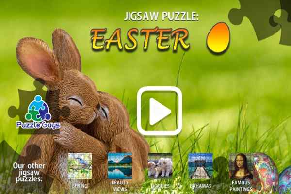 Play Jigsaw Puzzle Easter