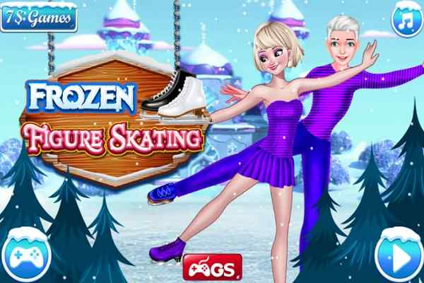 Play Frozen Figure Skating