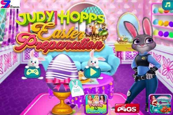 Play Judy Hopps Easter Preparation