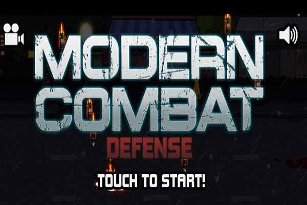 Play Modern Combat Defense