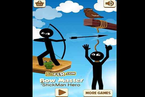 Play Bow Master Stickman Hero