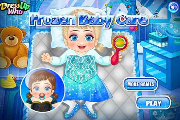 Play Frozen Baby Care